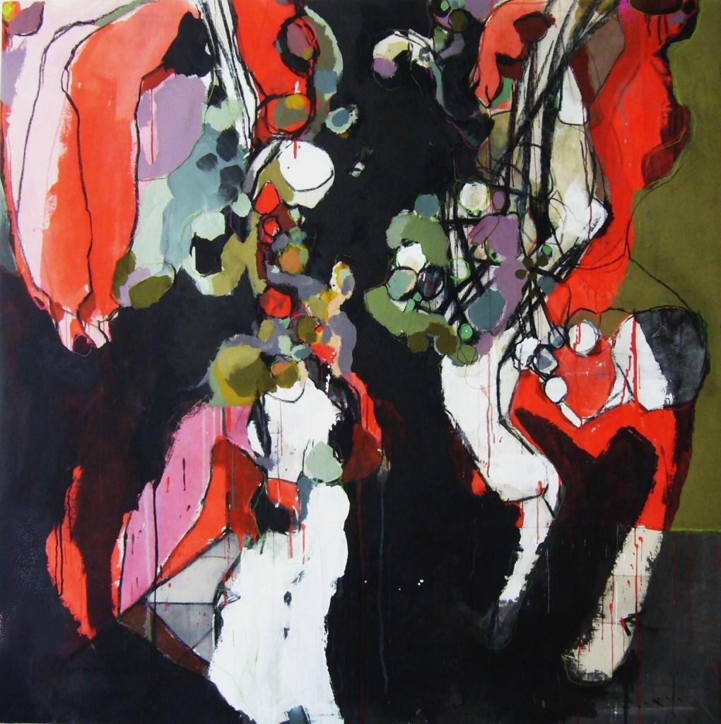 Ana Vernia. El rincón rojo, 2008. Serie The Sunday night