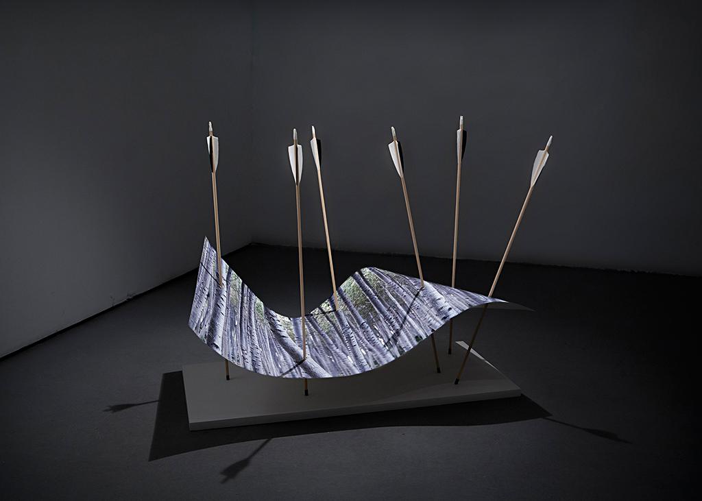 Antonio Guerra. Ver de Acción, 2017. Galería La Isla