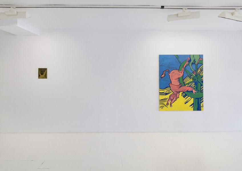 """Marc Badia en """"Panorama 2018"""". Galería Fran Reus"""