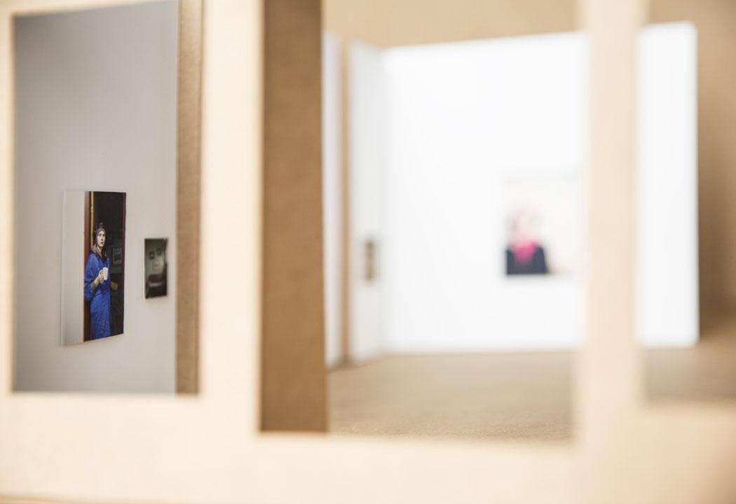 """Juan Baraja. Maqueta de la exposición """"Norlandia"""". Galería Javier Silva, 2018"""