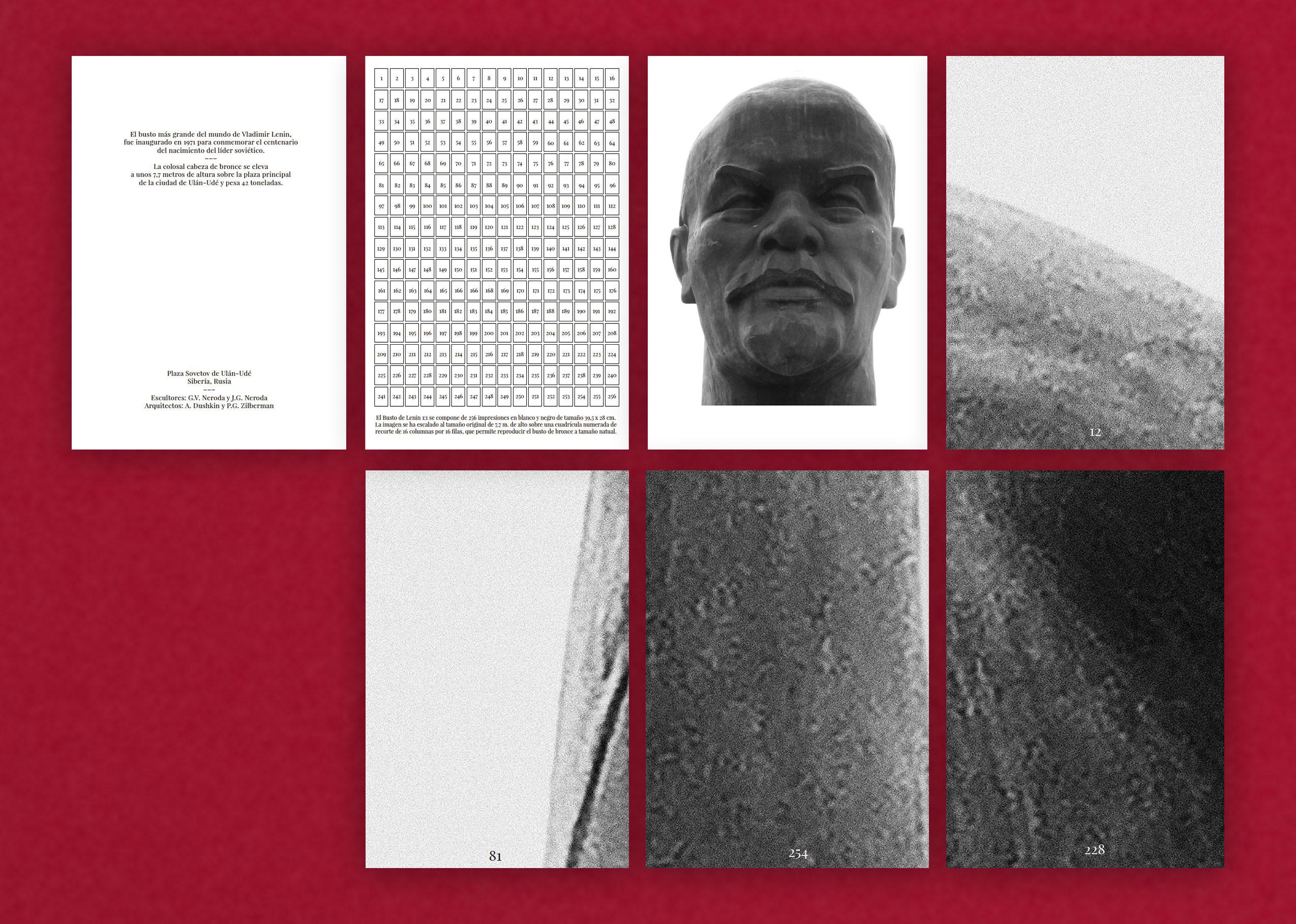 Miguel Benjumea. Busto de Lenin escala 1:1