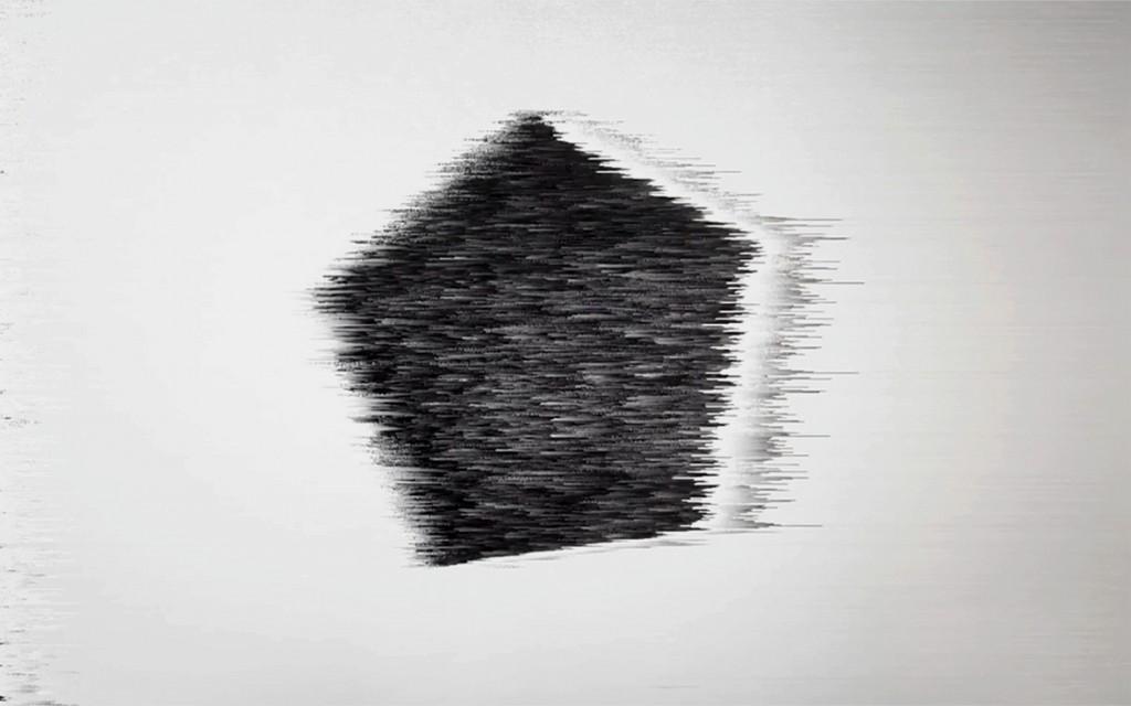 Beatriz Castela. Pentablack. (fotograma). Disintegration, ruptures & cracks, 2017
