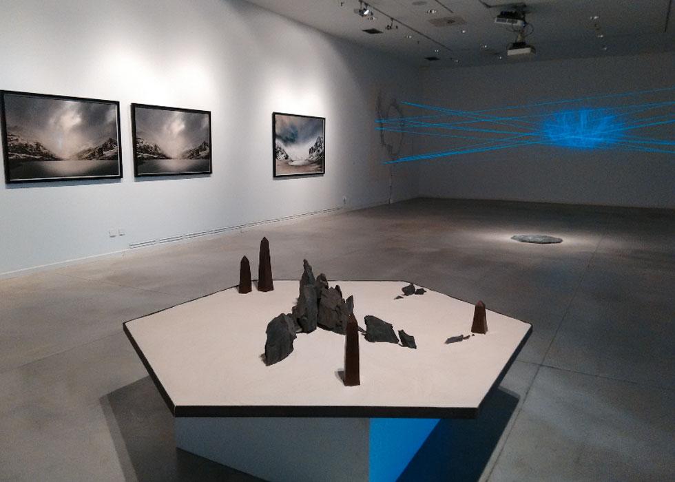 """Cristina Ferrández. """"The Non Visible"""" en el Centro de Arte Alcobendas, 2018"""