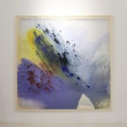 Cristina Gamón. Ice Field. Vista en exposición en la Galería Lucía Mendoza