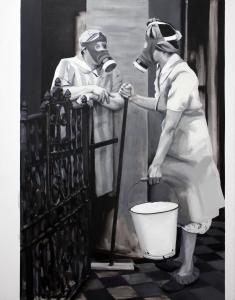 Cristina Toledo. El Frente doméstico (Londres 1940), 2014. Un acto de fe