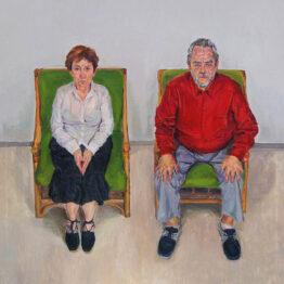 "Daniel Jordán. Un matrimonio (según ""Amour"" de Haneke), 2020"