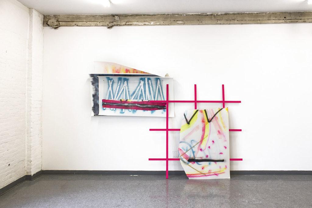Raúl Díaz Reyes. Open Studio, LMCC, Nueva York 2013