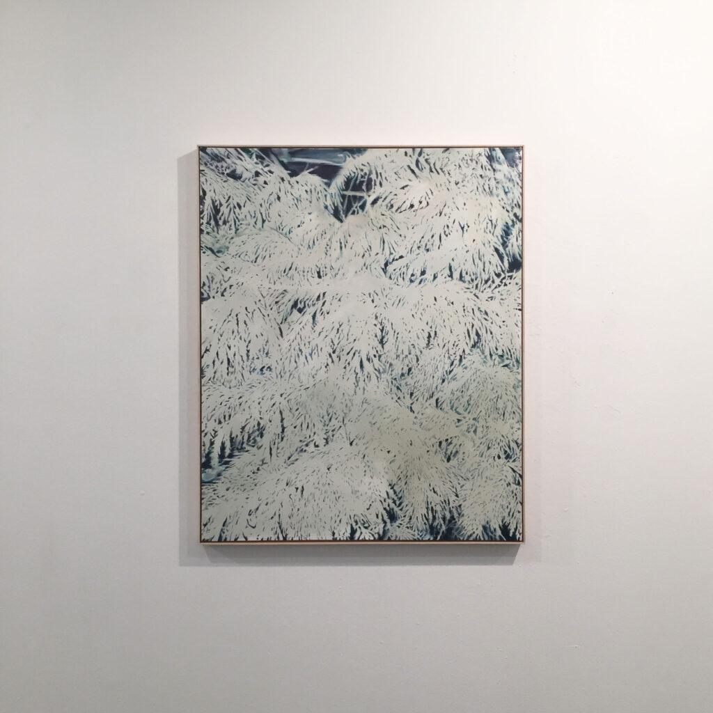 """Diego Vallejo Pierna. Sin título, 2018. """"Usher 'la caída'"""" Sala de exposiciones Unamuno, Salamanca"""
