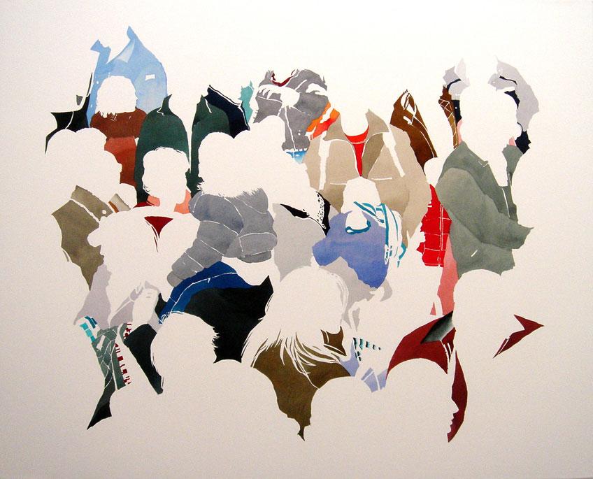 Virginia Frieyro. Agrupados 09, 2009. Colección DA2