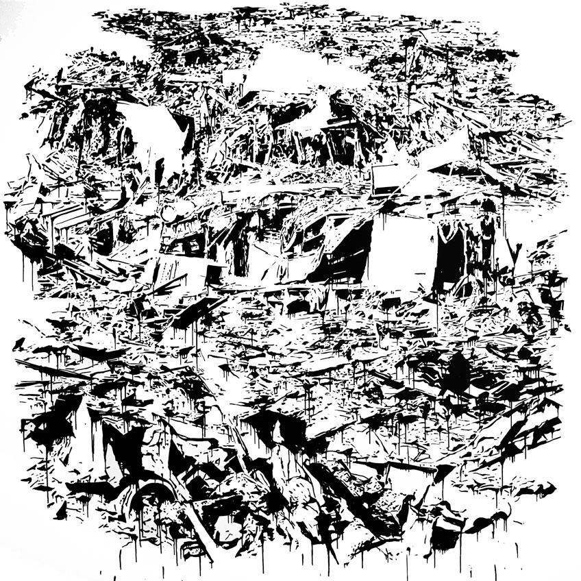 Virginia Frieyro. Debris Field, 2017. Selección OBRA ABIERTA Fundación Caja de Extremadura