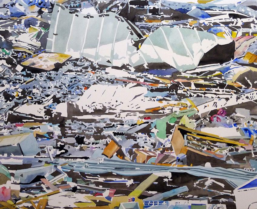 Virginia Frieyro. Escombros 06, 2012