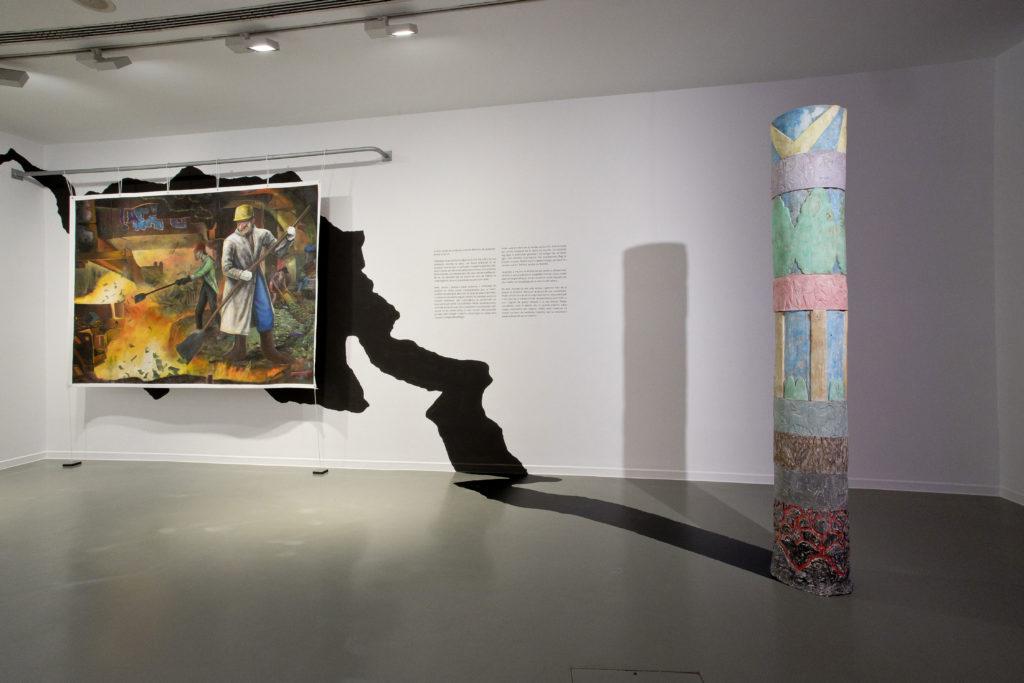 Ignacio García Sánchez. Amaurot World's Fair. Vista de la instalación en La Casa Encendida, 2019