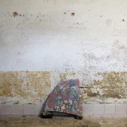 Ignacio García Sánchez. Ruinas del Antropoceno. Vista de la instalación en la cárcel de Markina, 2017