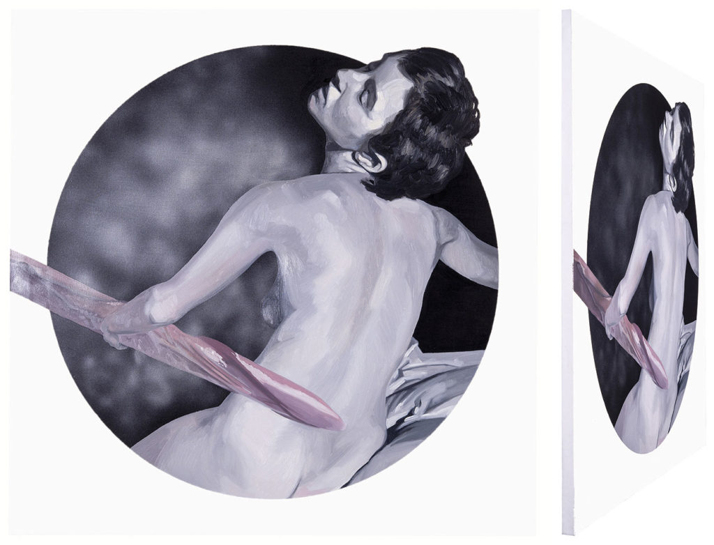 Carmen González Castro. Zeus e Ío. Serie O tempora, o mores, 2015