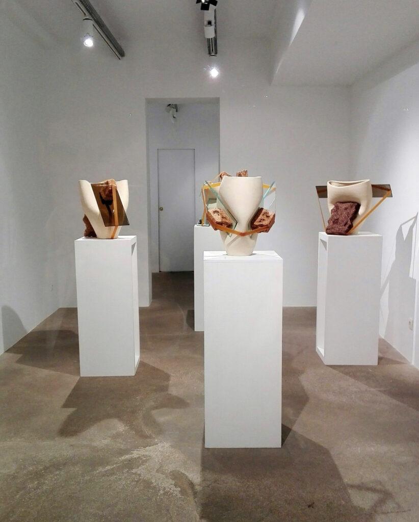 Compresiones, 2018. Galerie Nilsson et Chigilien, París