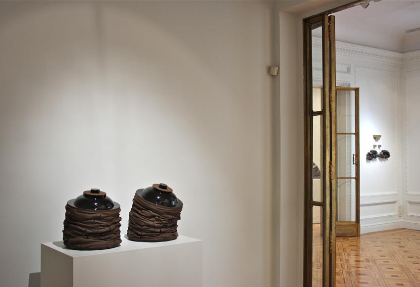 Gregorio Peño en la Galería Michel Soskine, 2014,