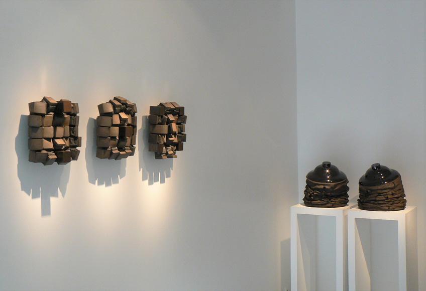 Gregorio Peño en la Galerie Nilsson et Chiglien. París, 2013