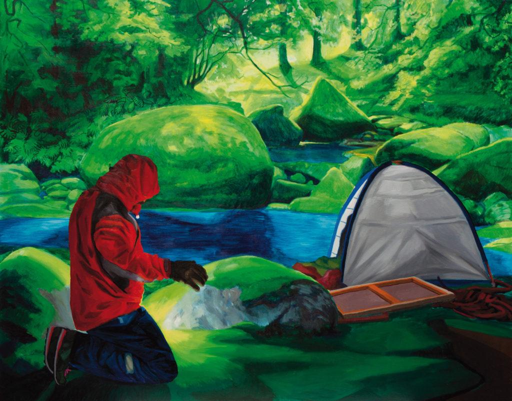 Iker Serrano. Parapeto de contención, 2011. Serie Viaje e isla
