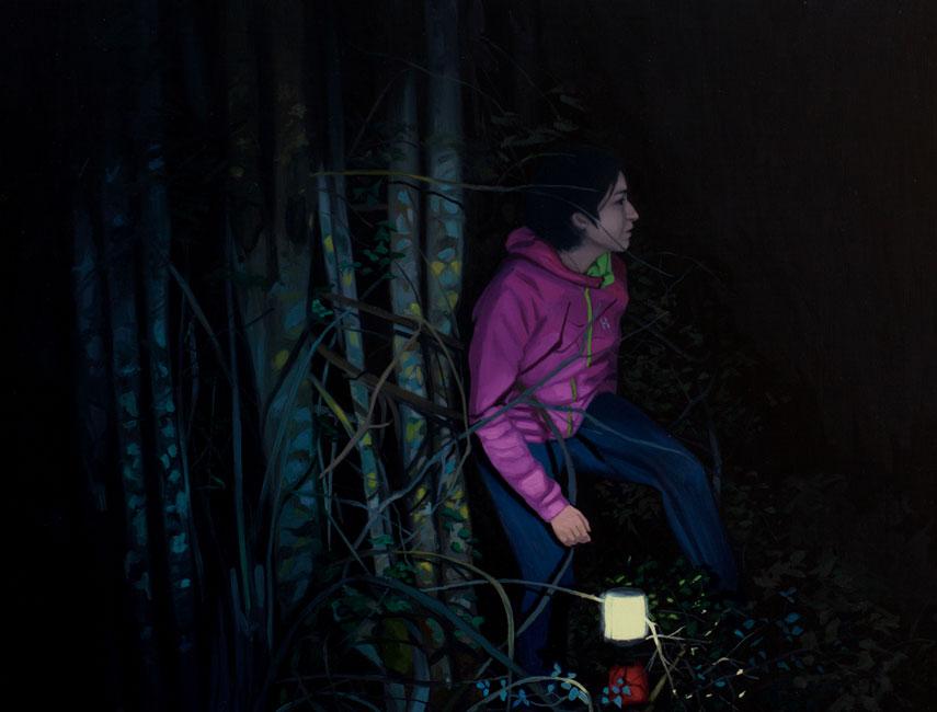 Iker Serrano. Máscaras en la oscuridad I, 2014. Isolarios