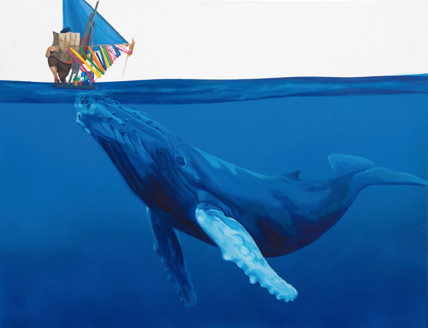 Iker Serrano. El estómago de la ballena, 2011. Serie Viaje e isla