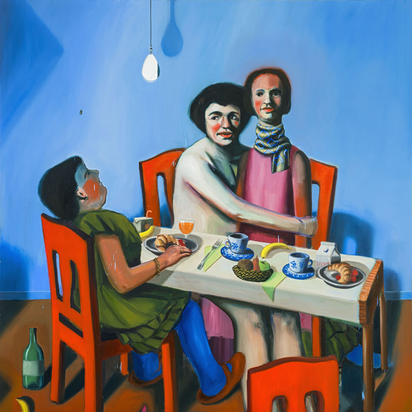 Ivana de Vivanco. Odd Breakfast, 2018