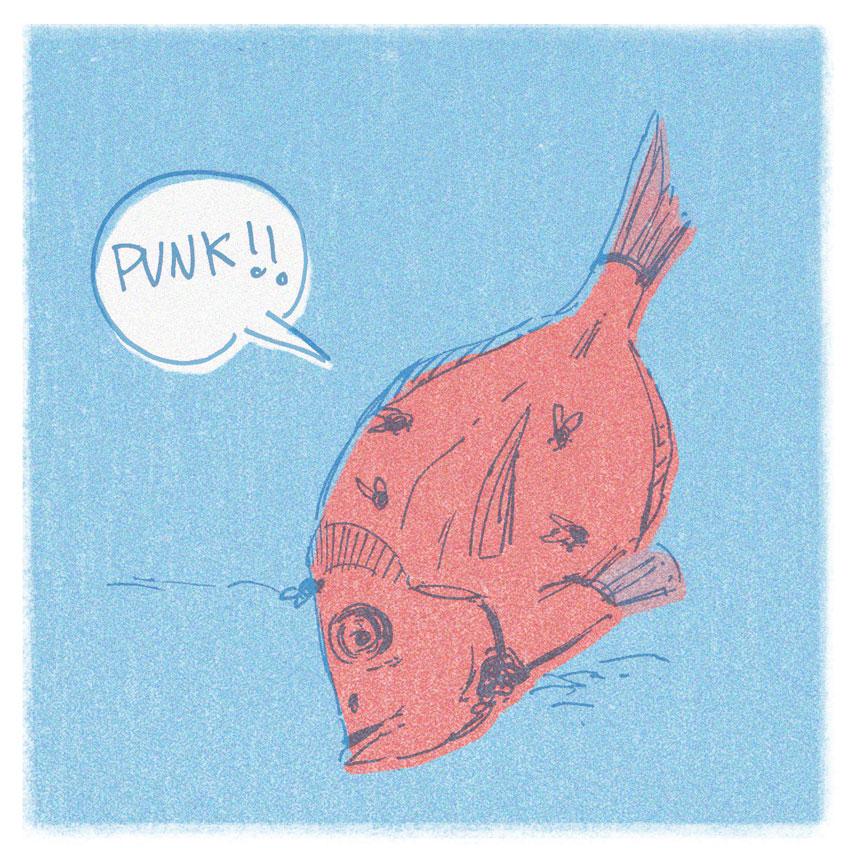 Javier Corzo. Animal: Fishes. Diario