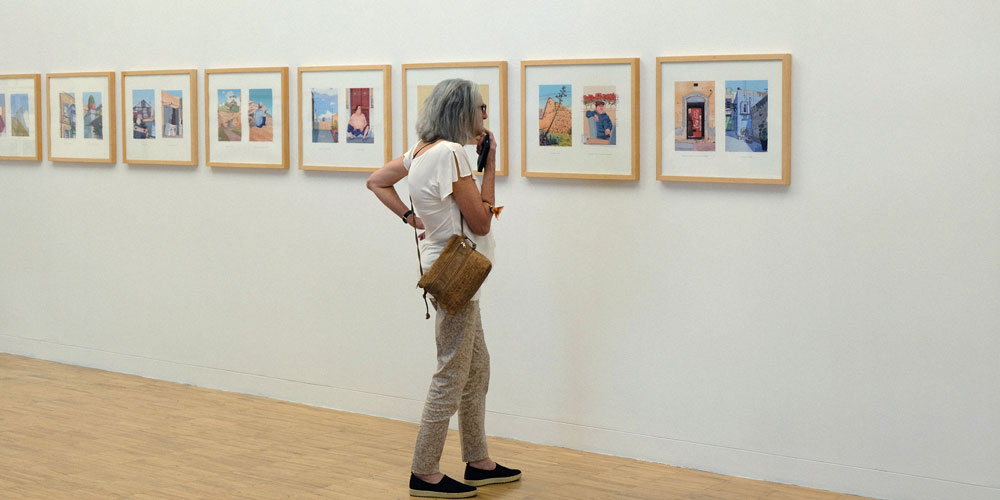 """Javier Corzo. """"Crisis?, What Crisis?"""" (Exposición colectiva en Tenerife Espacio de las Artes, 2018). Fotografías de Maria Laura Sovieri"""