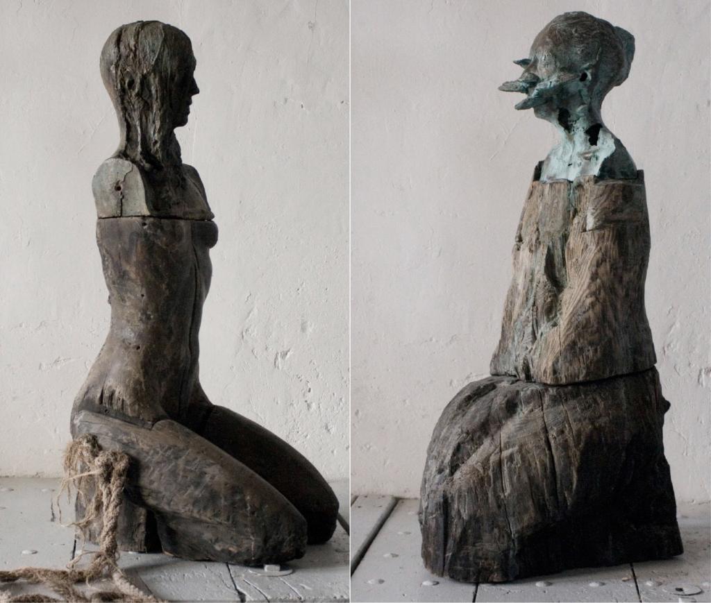 Joaquín Jara. Esculturas Orantes. Fotografía: Cristina Inocencio