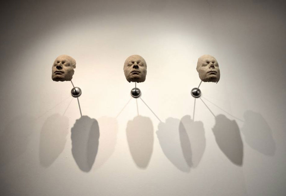 Jorge Gil. Mirror. Serie Golems, 2014
