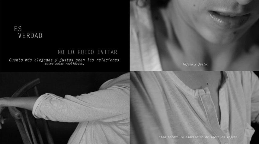 Julia Martos. Escorzo en tres actos, 2013