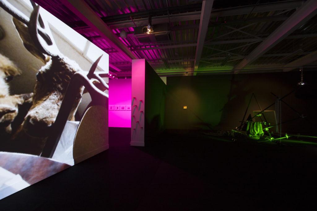 Lorena Amorós. Escena In-móvil. Centro Párraga, 2018.