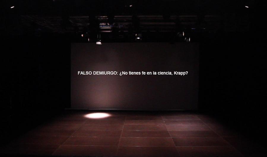 Marla Jacarilla. Acotaciones tras la cuarta pared, 2012
