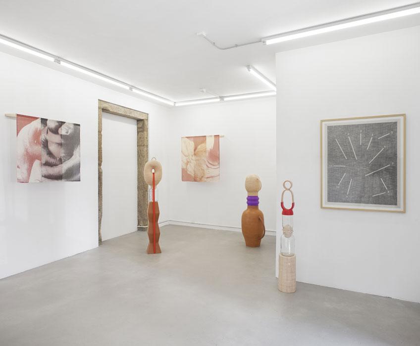 """Vista de """"La forma óptima"""" Galería Nordés, Fotografía: Roi Alonso"""