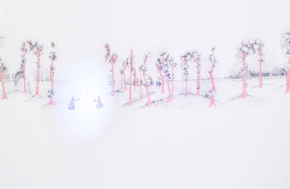Marta Bran. Escenas campestres, 2015
