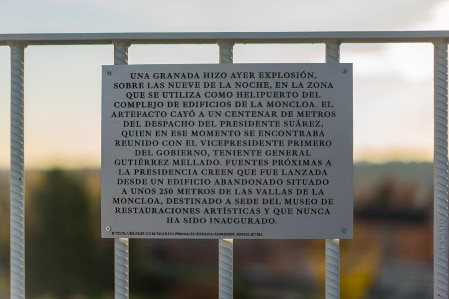 """Paula García-Masedo y Julia Ramírez. """"Los futuros del pasado rebosan cuando rebanas el presente"""", vista de la intervención. IPCE, 2018"""