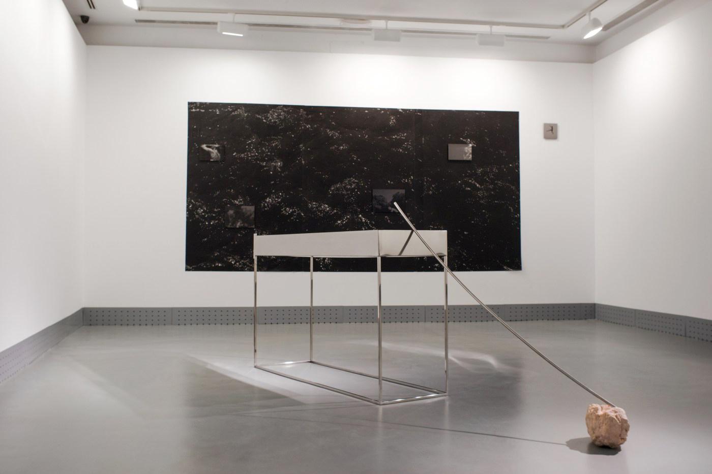 Moreno & Grau. S/T. Shore to Shore, 2017. Vista de exposición. Espacio Iniciarte