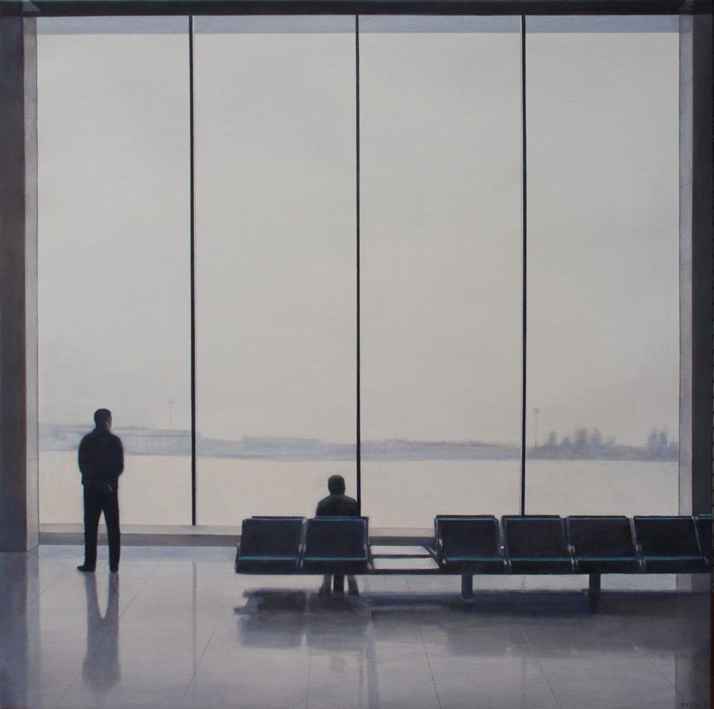 "Federico Granell. Orly (París) II, ""Homo Faber"". Centro de Cultura Antiguo Instituto"
