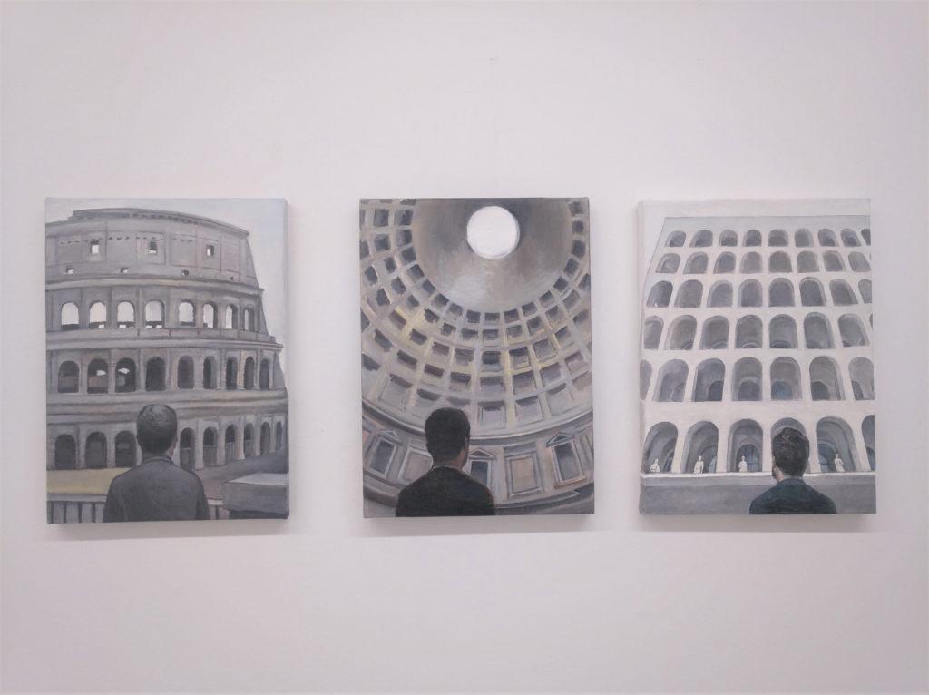 "Federico Granell. ""Vuelve conmigo a Italia"". Galería Gema Llamazares"