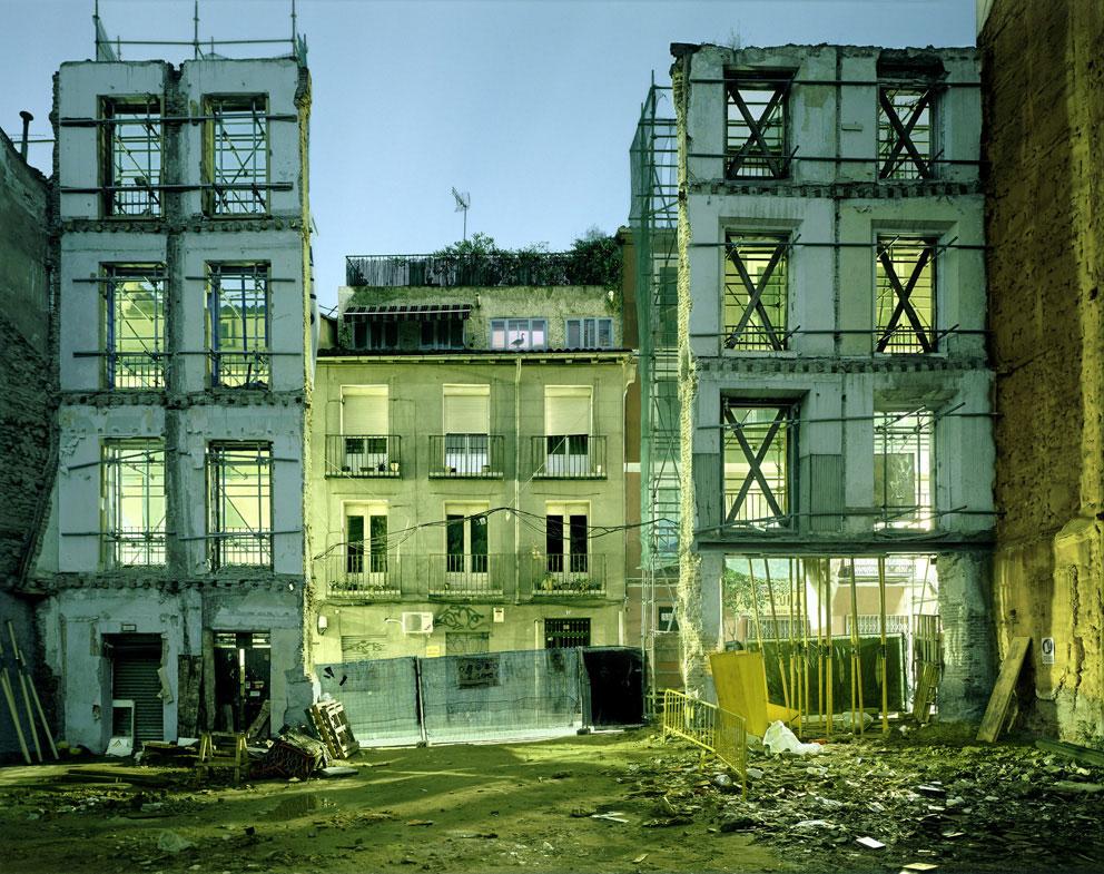 "Primoz Bizjak. Calle Amparo nº 19. Madrid 2007. ""El rincón feliz"". Museo Barjola"