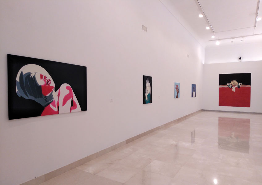 """Nekane Manrique. """"Musas"""" en el Museo de Arte MAD de Antequera, 2018"""