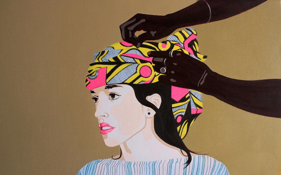 Nekane Manrique. La joven del turbante, 2017