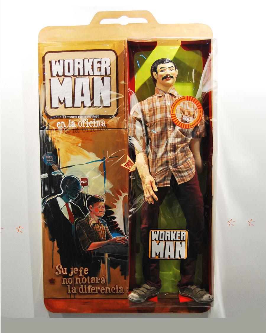 Jonathan Notario. Worker Man