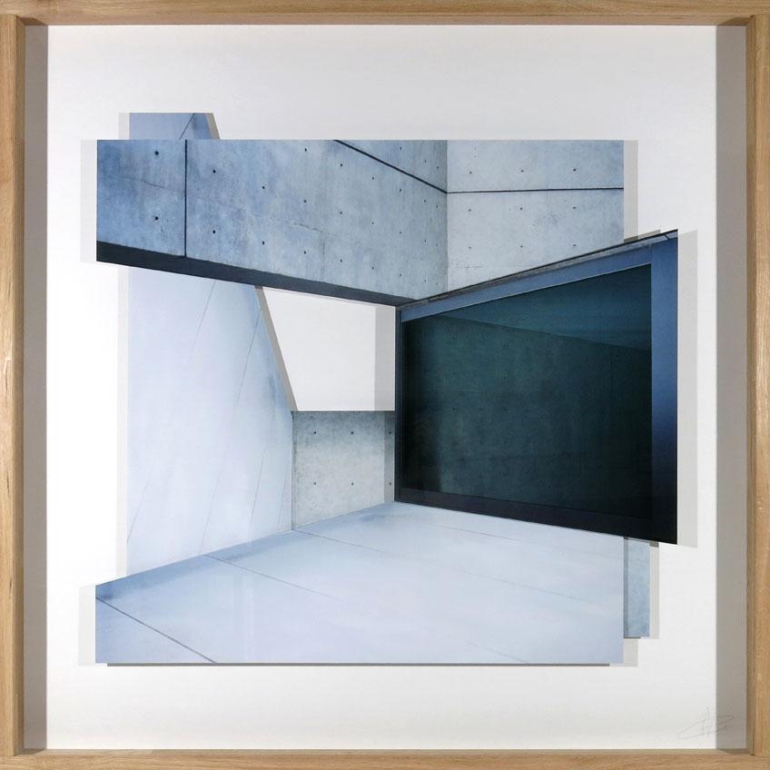 Patrik Grijalvo. Tadao Ando, 2018. Serie Gravitación visual