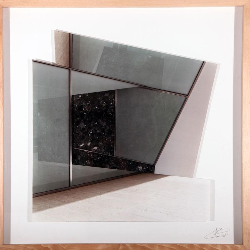Patrik Grijalvo. Van der Rohe, 2017. Serie Gravitación Visual