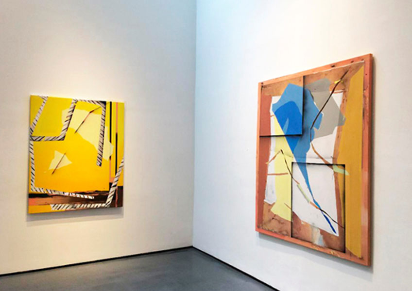 """Pepa Prieto. """"Polarities"""" en la Bryce Wolkowitz Gallery, 2017"""