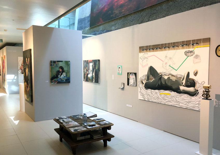 Pepa Salas Vilar en Kunstsalon Perchtoldsdorf, 2017