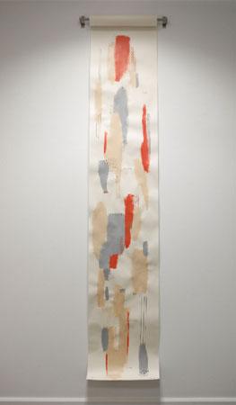 """Virginia Rivas. In Mind, 2018. """"Mapa sonoro"""", Sala de Arte El Brocense"""