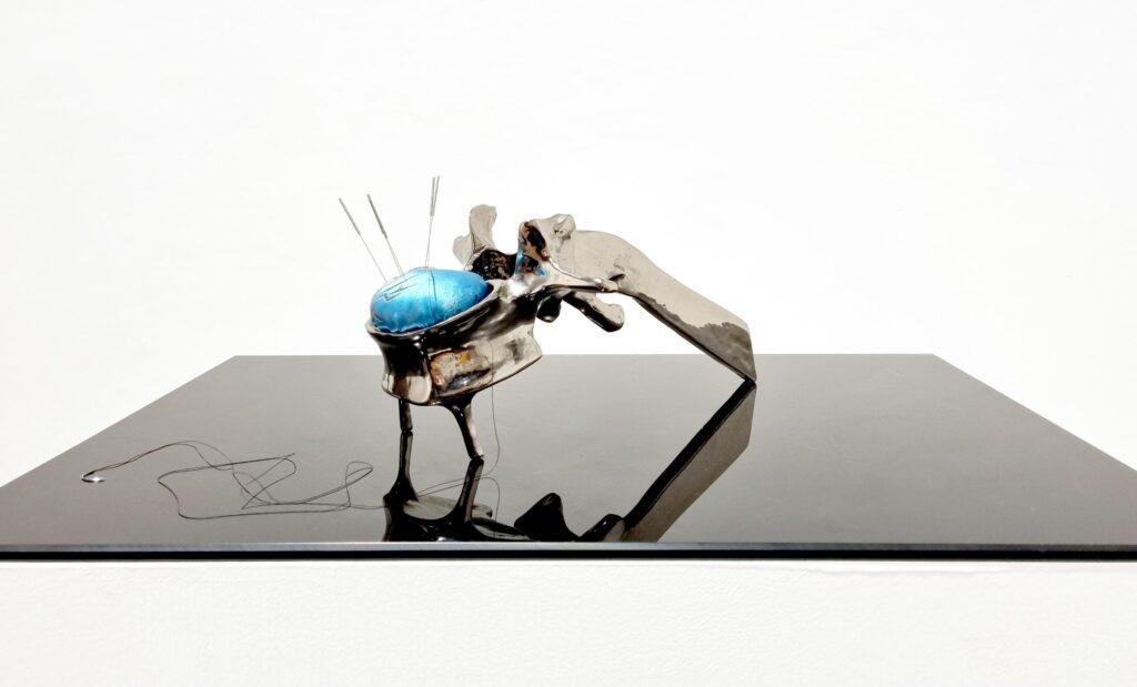"""Romina Rivero. Consuelda, 2021. """"Ikigai. Anatomía de las luciérnagas"""". Galería Artizar, 2021"""