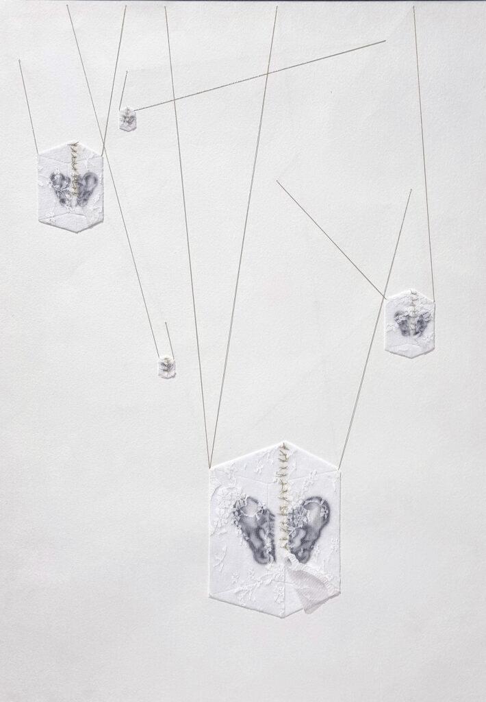 """Romina Rivero. Anatomía de las luciérnagas, 2021. """"Ikigai. Anatomía de las luciérnagas"""". Galería Artizar, 2021"""