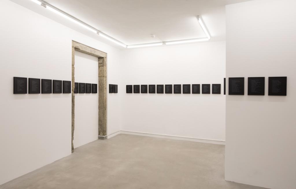 """Rosendo Cid. Antidefiniciones. """"La duda es el único estado posible"""". Galería Nordés, 2018"""